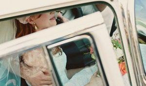 matrimonio macchina della sposa