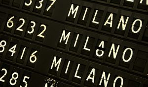 how many airports in milan